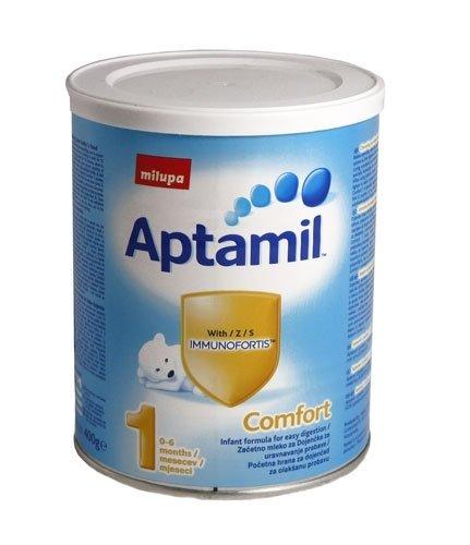 APTAMIL Бебешко адаптирано мляко Comfort 1 400гр.